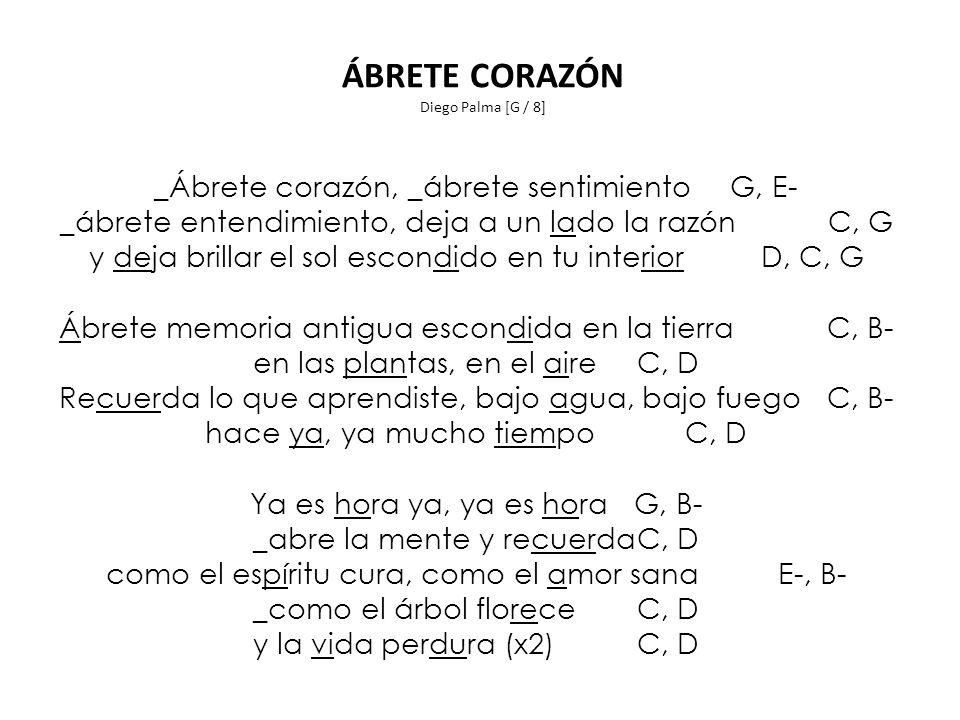 ÁBRETE CORAZÓN Diego Palma [G / 8]